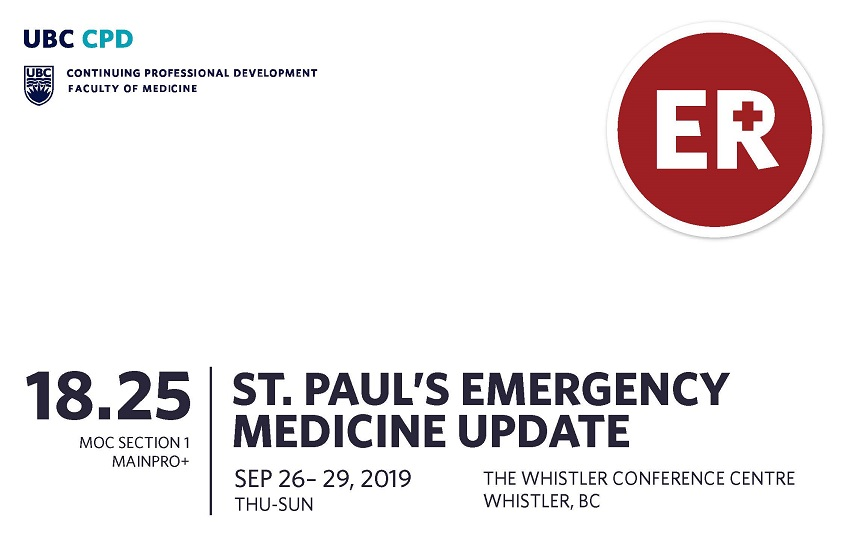 Course Image St. Paul's Emergency Medicine Update 2019
